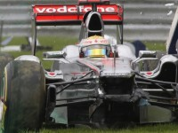 Hamilton knocked unconscious in Spa crash