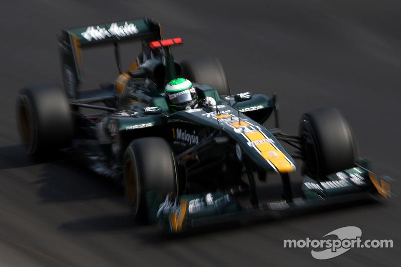 Team Lotus Italian GP - Monza qualifying report