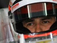 Ferrari hails Perez after test in 2009 car