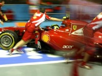 Ferrari Singapore GP Friday practice report