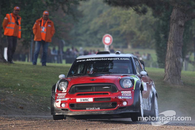 Sordo puts MINI in lead on day one of Rallye de France