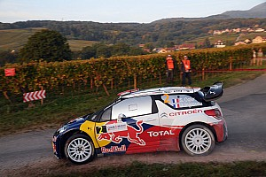 WRC Ogier puts Citroen on top of Rallye de France after day two's challenge