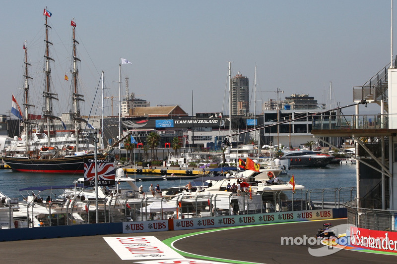 Valencia not keen on F1 alternation idea