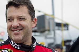 Tony Stewart Kansas II Friday media visit