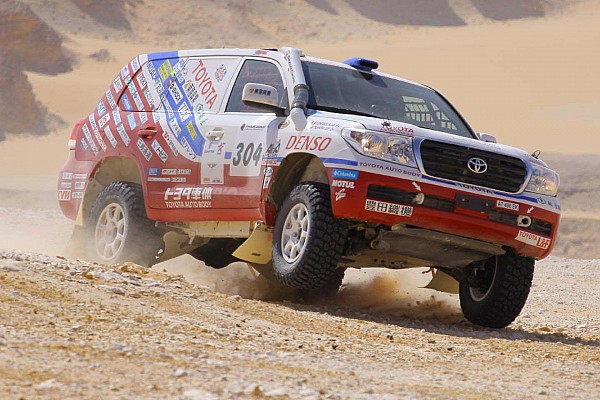 Pharaons Rally, Day 5: Day of the Desert Fox