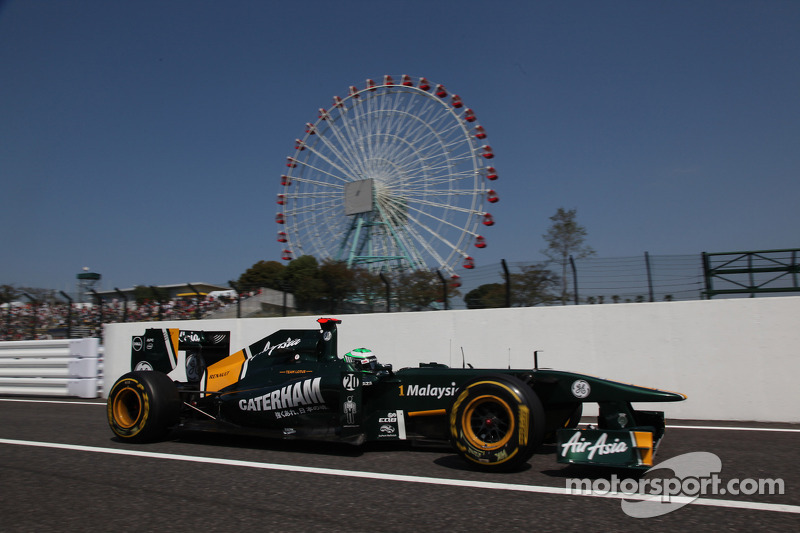 Team Lotus Japanese GP - Suzuka qualifying report