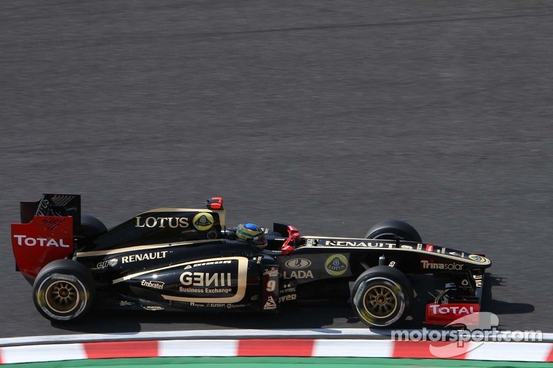Lotus Renault's Alan Permane -