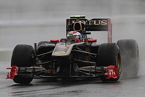 Formula 1 Lotus Renault Korean GP - Yeongam Friday practice report