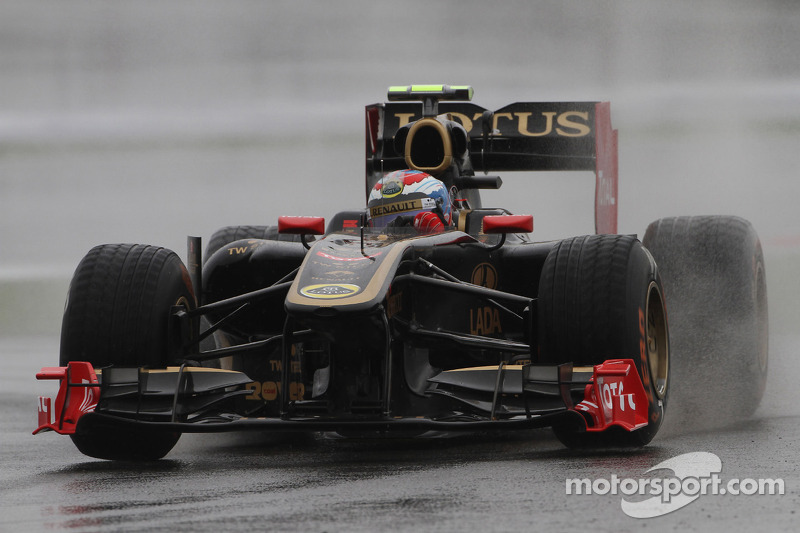 Lotus Renault Korean GP - Yeongam Friday practice report