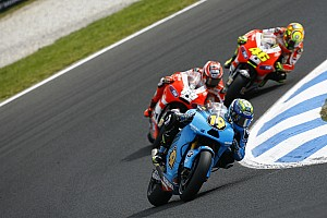 Suzuki Australian GP race report