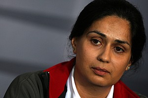 Formula 1 Sauber interview with Team CEO Monisha Kaltenborn-Narang
