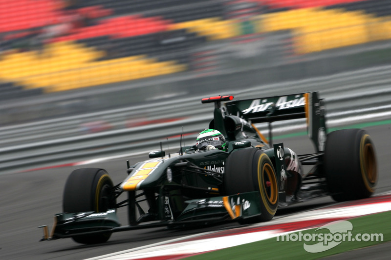 Team Lotus Indian GP Friday practice report