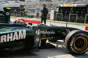 Formula 1 Team Lotus Indian GP race report