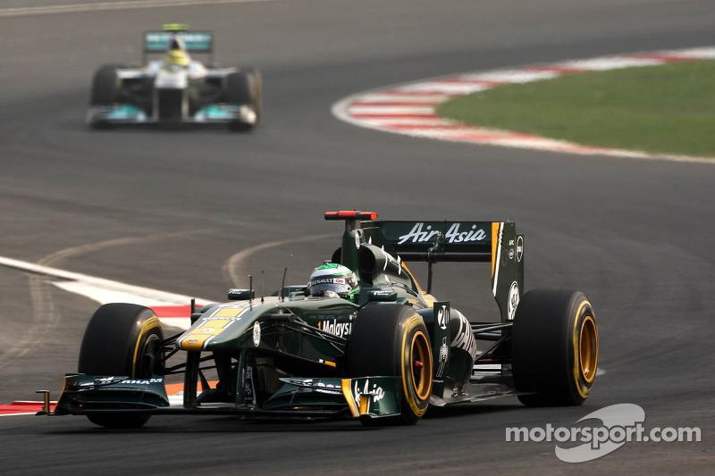Team Lotus Indian GP race report