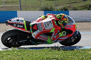 Ducati Valencia test day 1 report