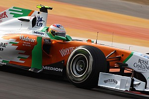 Force India Abu Dhabi GP qualifying report