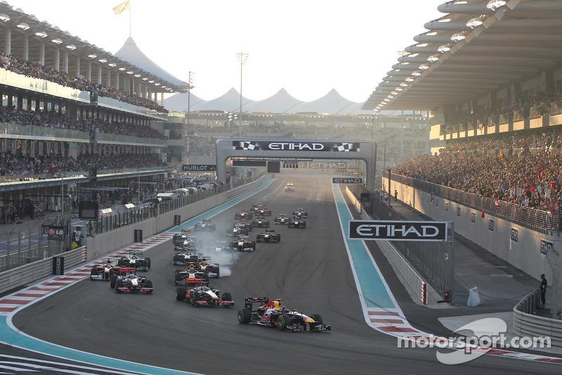 Red Bull Abu Dhabi GP race report