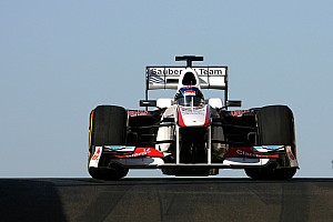 Abu Dhabi test not just about young drivers - Sauber