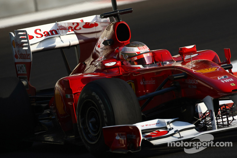 Ferrari Abu Dhabi young driver test Thursday report