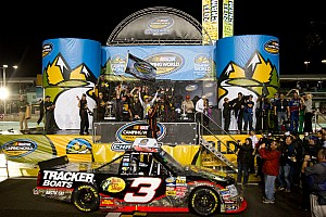 NASCAR Truck Chevy drivers win championship and Rookie of the year