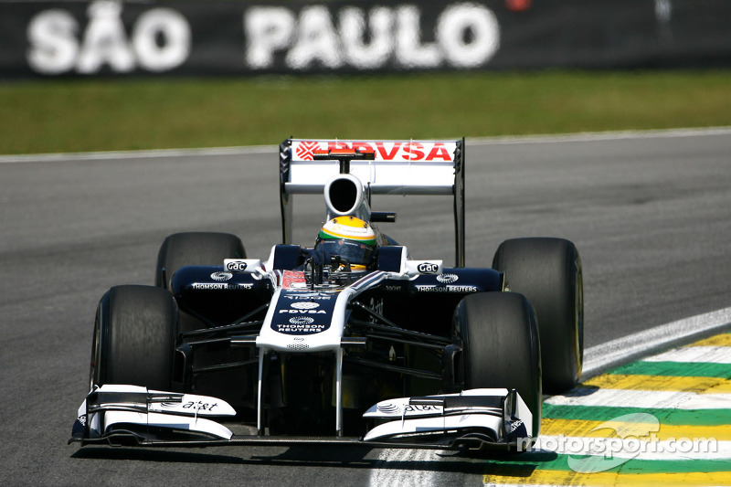 Williams Brazilian GP Friday practice report