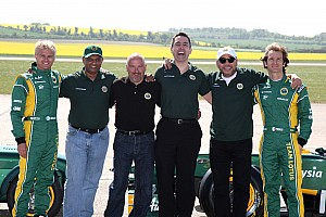 Formula 1 Comments suggest 2012 Caterham lineup not in doubt