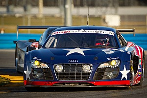 Grand-Am Factory Audi R8 completes successful first test at Daytona