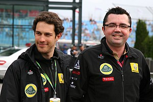 Formula 1 Boullier hints at Friday role for Senna
