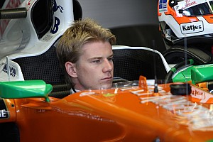 Hulkenberg not fussy over 2012 teammate