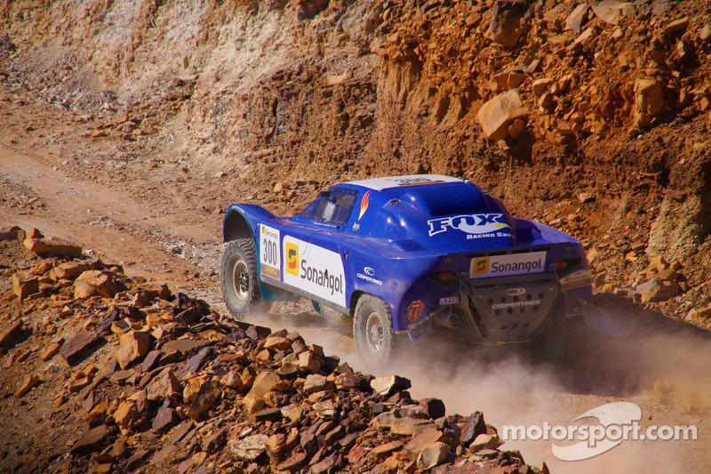 Schlesser takes the lead in stage 2 of Africa Eco race
