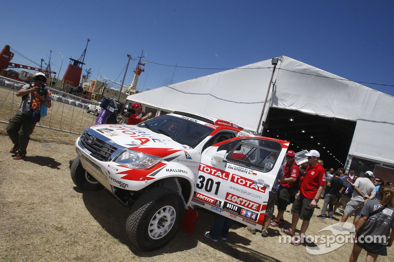 Team Imperial Toyota news before opening stage