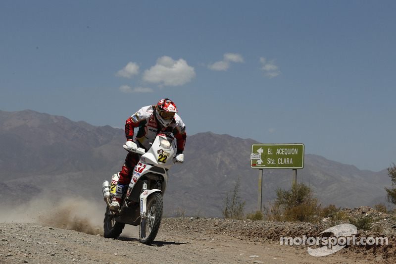 Aprilia Racing stage 10 report
