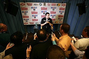 Stewart-Haas Racing Media Tour at Charlotte, day 1