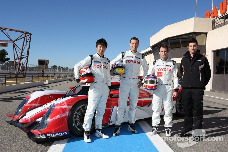 Toyota Racing unveils 2012 plans