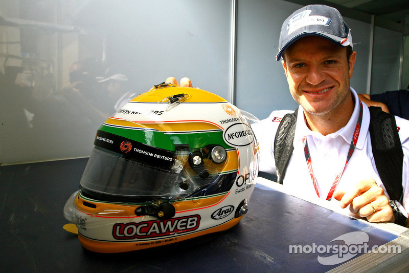 Friend Kanaan asked Barrichello to test Indycar
