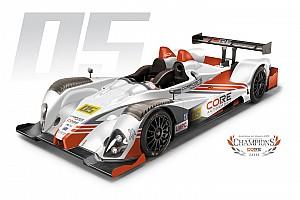 CORE autosport reveals 2012 livery