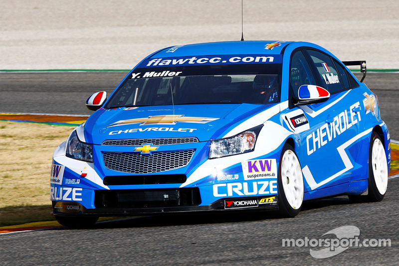 Last Winter Test for Cruzes at Valencia