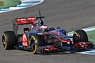 McLaren Jerez test day 1 report
