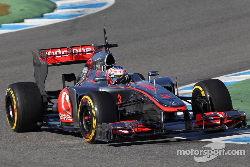 McLaren Jerez test day 1 report
