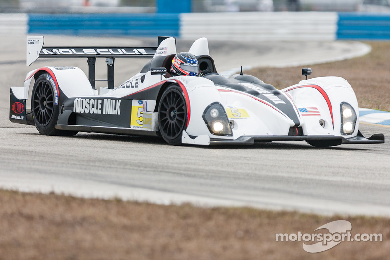 Muscle Milk Pickett Racing winter test day 1 report