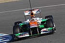 Force India Jerez test day 3 report