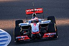 McLaren Jerez test day 2 report