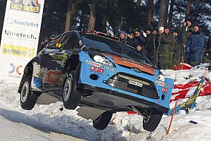 M-Sport Rally Sweden leg 2 summary