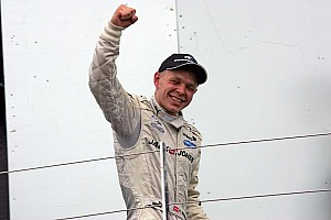 Magnussen steps up a gear in McLaren Driver Development Programme