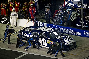 Jimmie Johnson Daytona Shootout race report