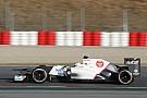 Sauber Barcelona testing -  Day 1 report
