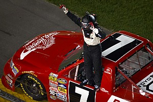 John King captures Daytona Int'l Speedway victory