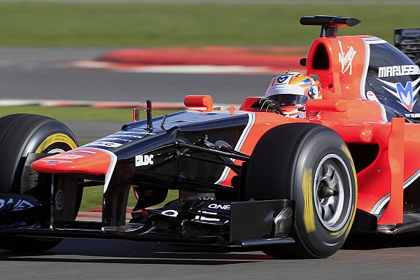 Marussia present MR01 at Silverstone