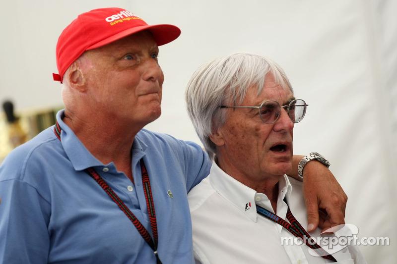Ecclestone successor talk 'unnecessary' - Lauda