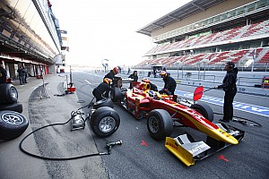 Racing Engineering Barcelona test summary